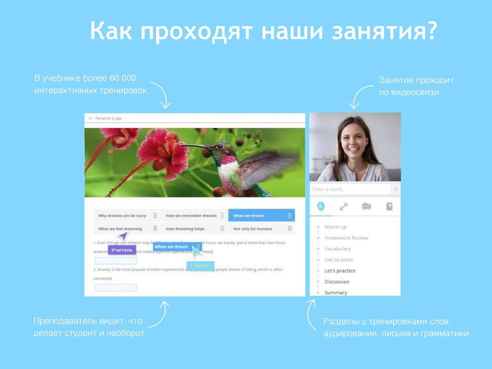Online platform English