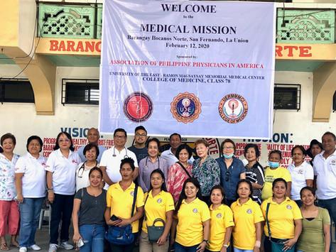 San Fernando La Union Medical Mission 2020