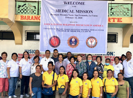San Fernando La Union Medical Mission 2020
