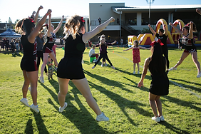 Cielo Sports Cheerleaders at Superfest