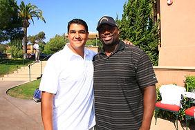 Cielo Sports Marcus Preciado with Jacques Cesaire