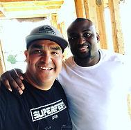 Cielo Sports Marcus Preciado with Corey Liuget