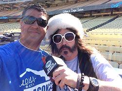 Marcus Preciado with Vick the Brick