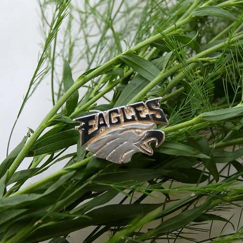 Philadelphia Eagles Sterling Silver Ring