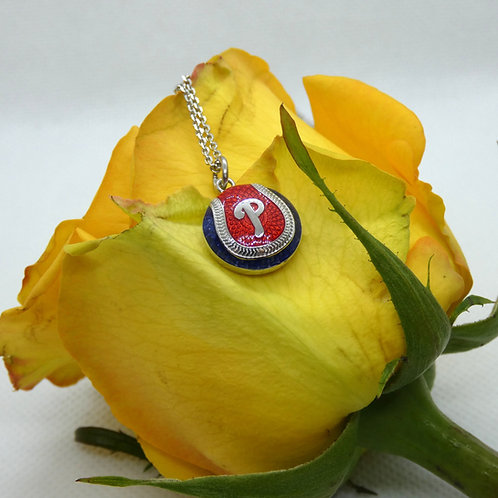 Philadelphia Phillies Logo Pendant Necklace