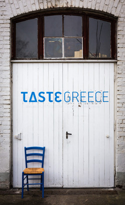 Eingang von Taste Greece