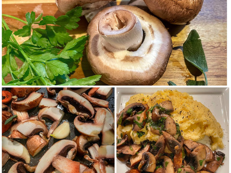 Polenta With Mushrooms and Herbs