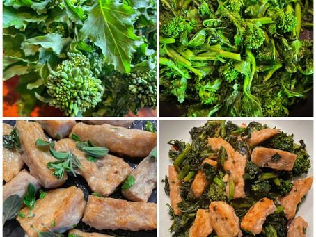 Cooking Italian Broccoli Rabe