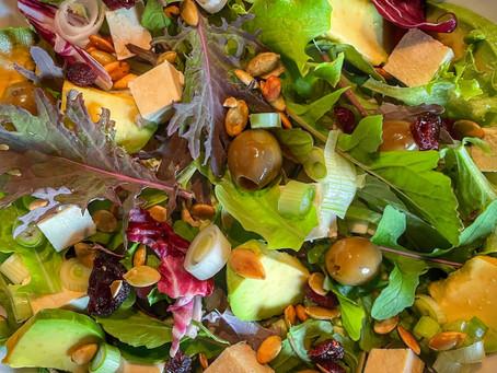 Layering a Delicious Salad