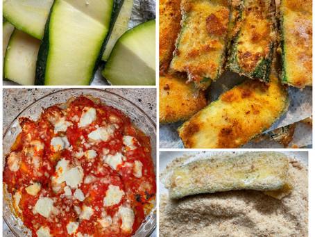 Mamma Adriana's Zucchini Parmigiana