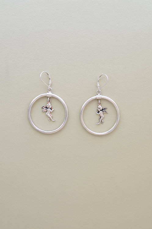 Cupid Hoop earrings