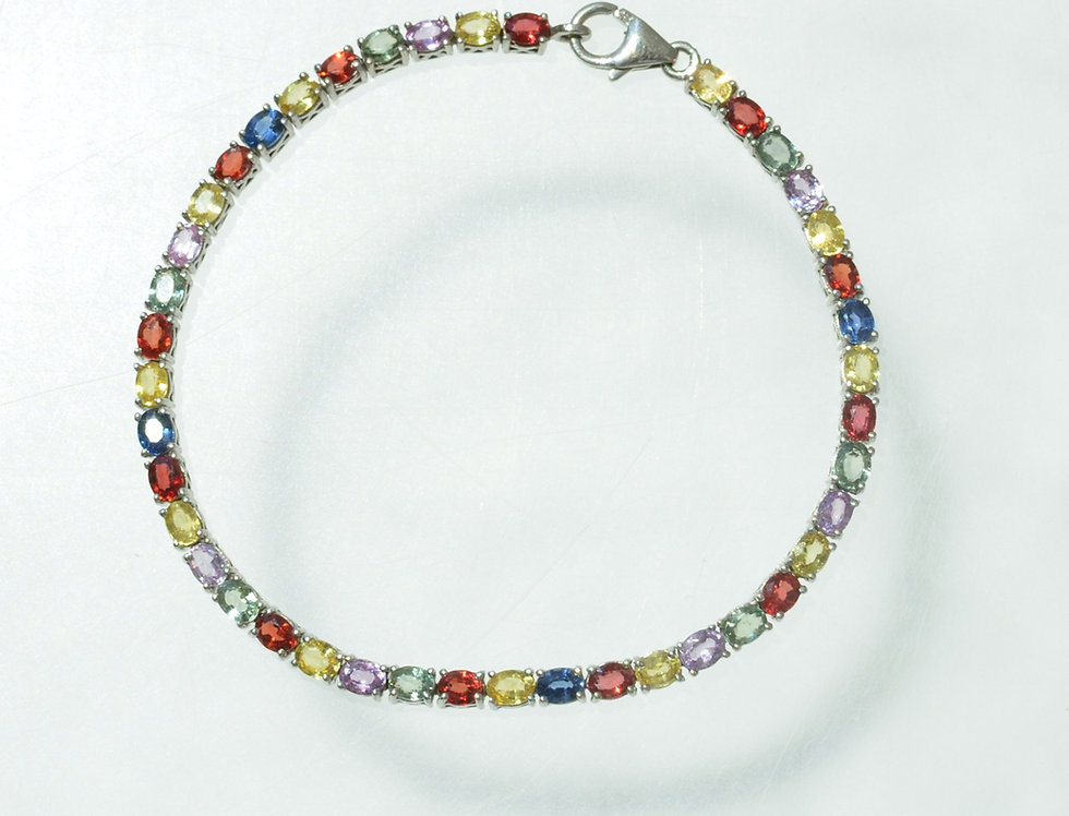 Multicolor Gem Bracelet