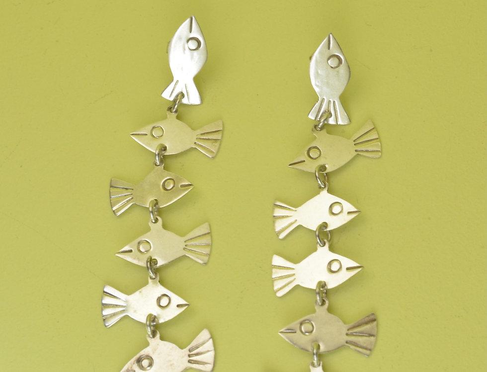 Sea of Fish Earrings