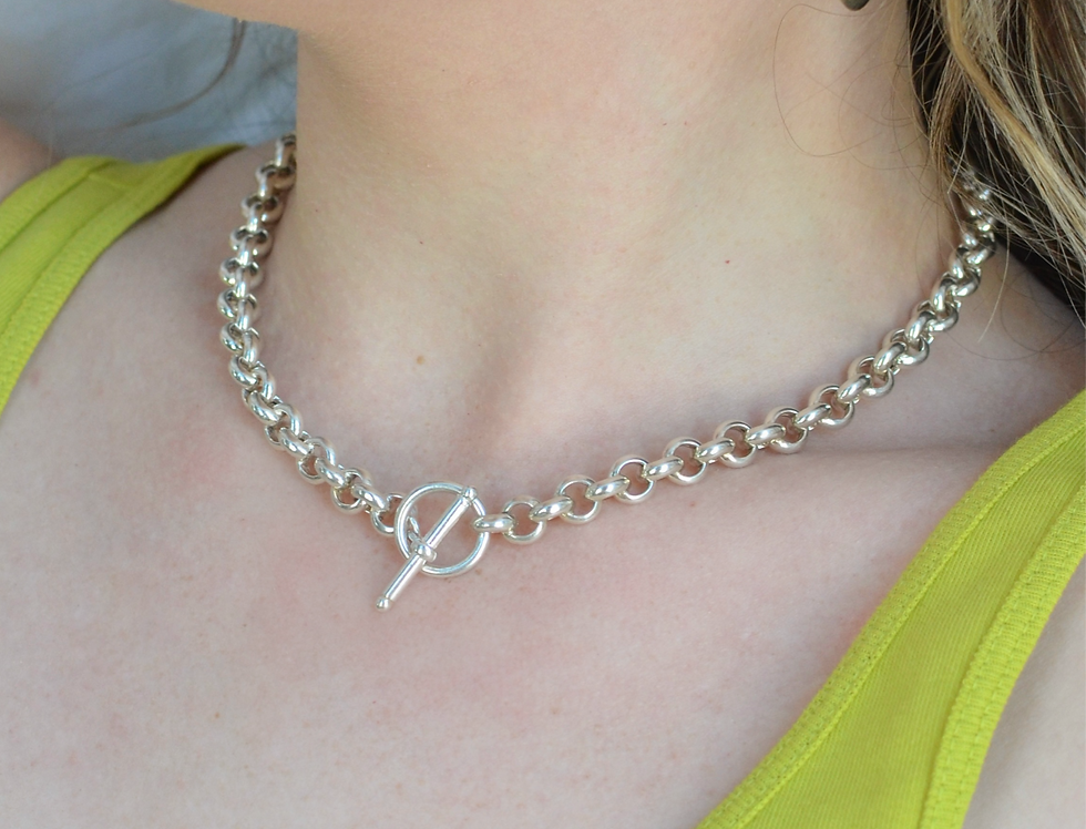 Rolo Toggle Necklace