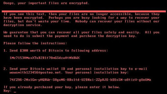 New Ransomware attack takes down businesses all over the world!