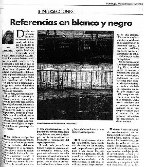 Referencias en Blanco y Negro