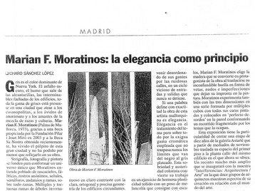EL PUNTO DE LAS ARTES | Press review