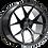 Thumbnail: ROHANA RFX5 20インチ ホイールタイヤ本セット