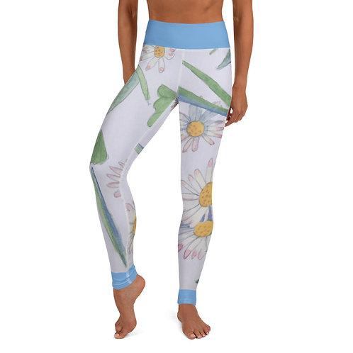 Delightful Daisies Yoga Leggings