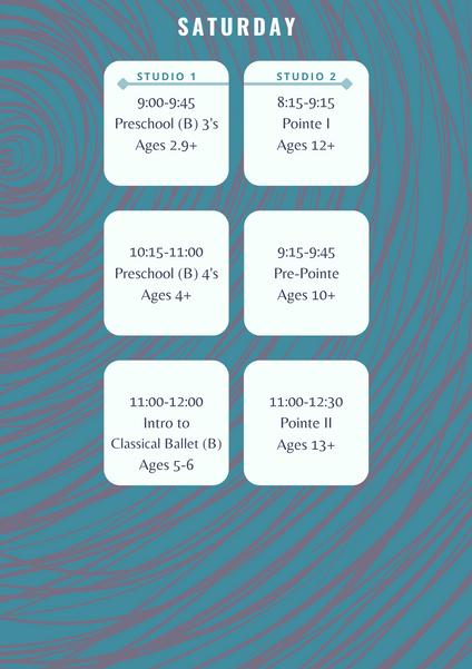 Saturdays at Elevate, 21-22