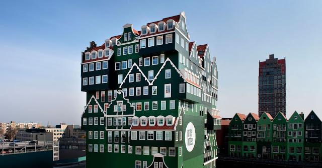 Grüne Villa Kunterbunt: Hotel Inntel Amsterdam