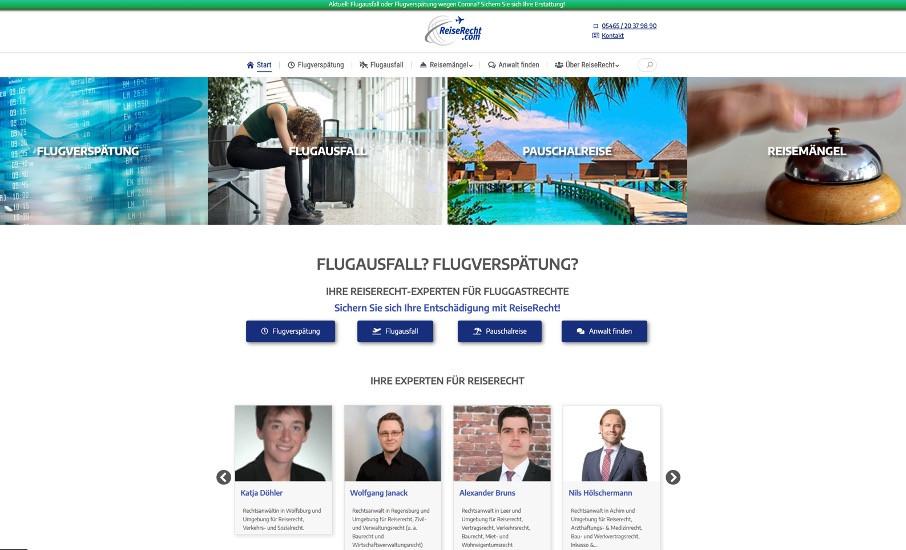 Wesentlich günstiger als vergleichbare Portale: Das StartUp ReiseRecht hilft mit persönlicher Beratung direkt vor Ort