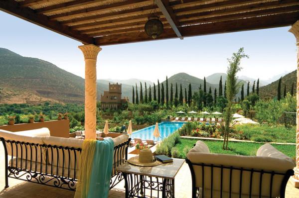 Kluges Investment in Entspannung: Urlauben im Anwesen Kasbah Tamadot nahe Marrakesch