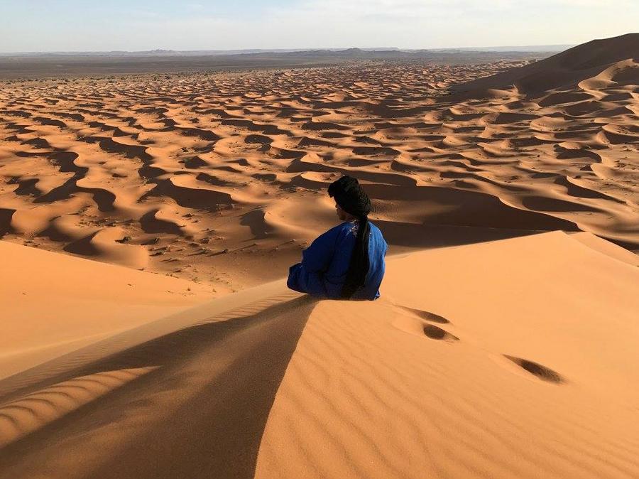 Yoga, Meditation, Heilen und spirituelles Erwachen in der Wüste von Marokko