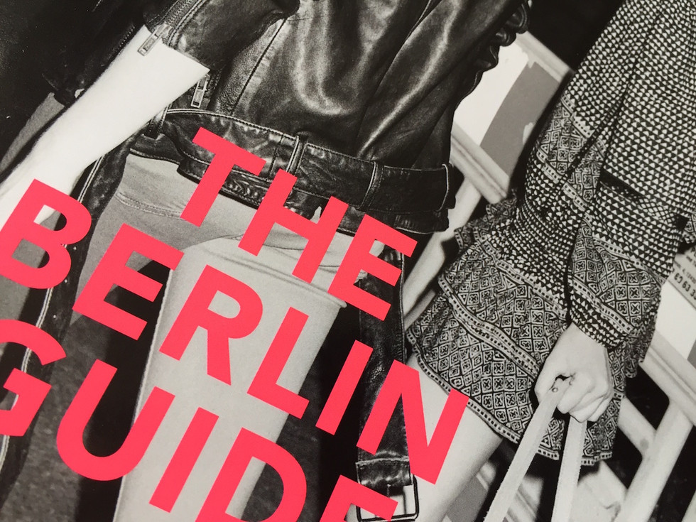 "Nightseeing - Sightseeing: ""The Berlin Guide"" von Liebeskind Berlin"