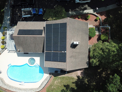 Aerial property photo
