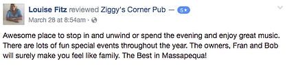 Ziggy's Corner Pub Live Music Review