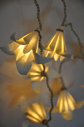Guirlande Fleurs de Lys Ivoire
