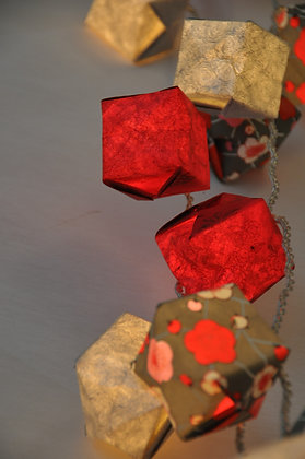 Guirlande  Cubes Fujiyama