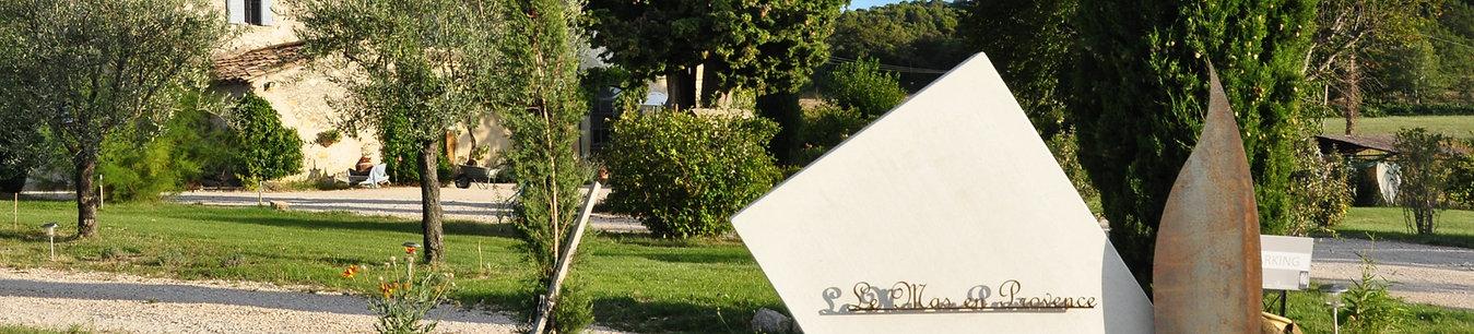 Le Mas en Provence vue d'ensemble