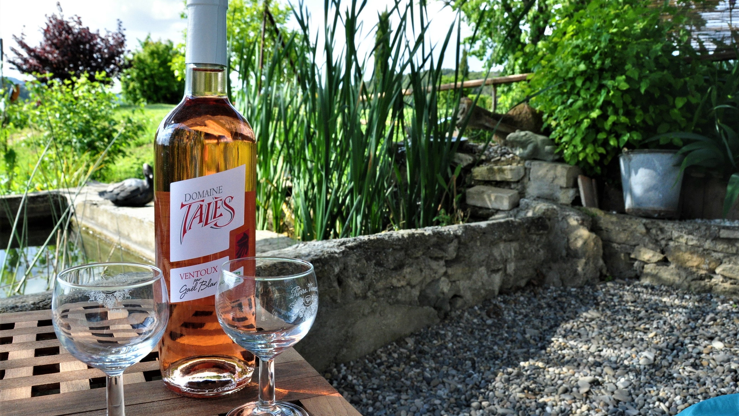 Rosé bio frais Domaine Tales