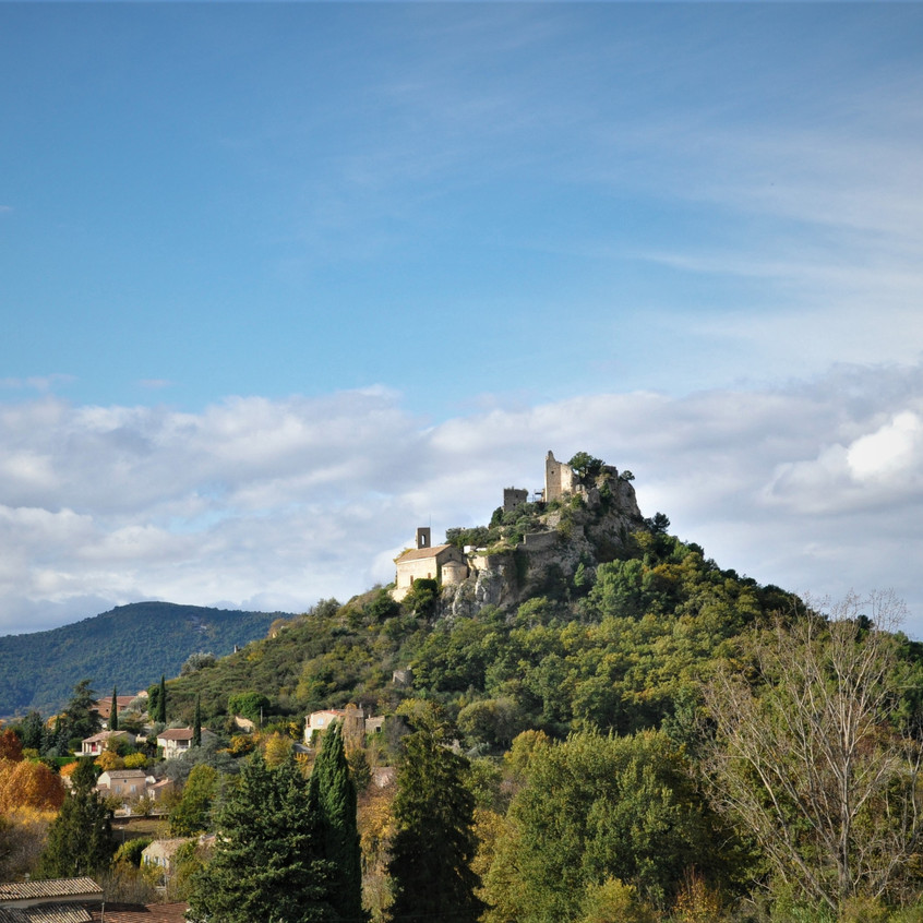 château d'Entrechaux