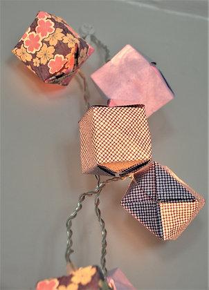 Guirlande cubes Lavande