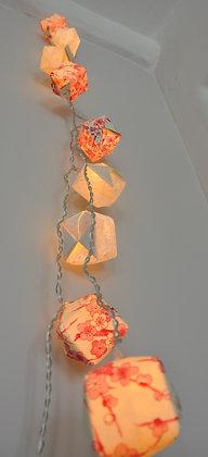 Guirlande cubes Geisha
