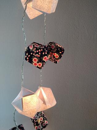 Guirlande origami Velours