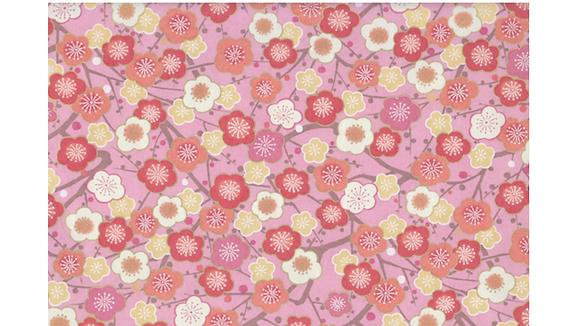 Chiyogami Fleurs cerisier japonais