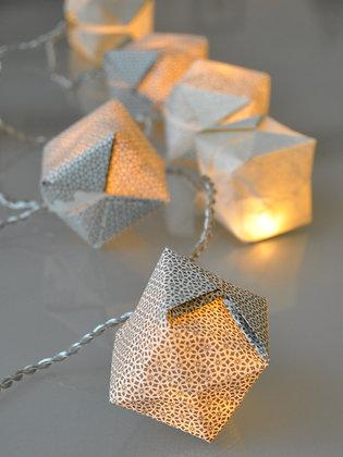 Guirlande cubes Tilleul