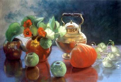 Ann Parker Nasturtiums