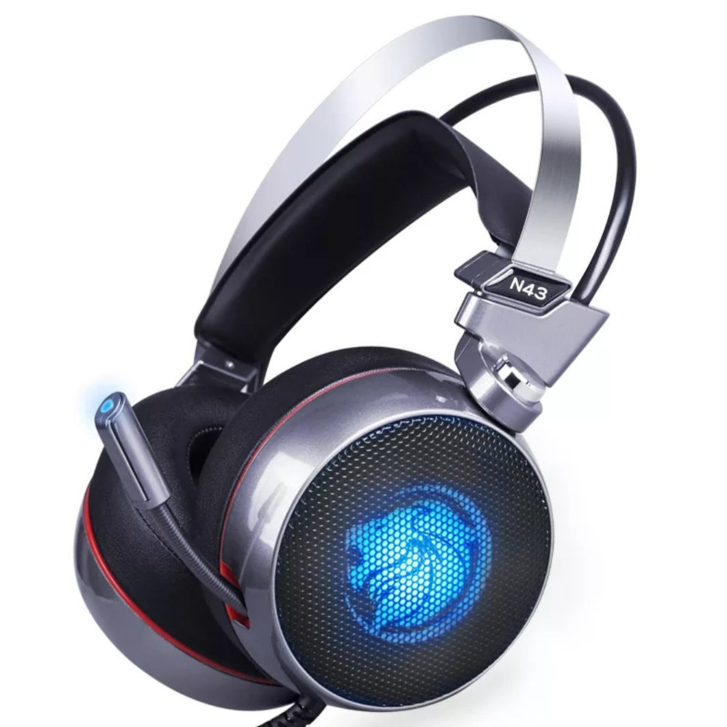 Stereo Gaming Headset 7.1 Virtual Surround Bass