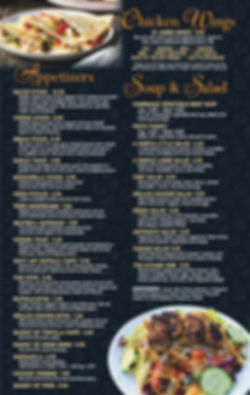 Papa s Pizza - Dine In Menu 5-18A    PRO
