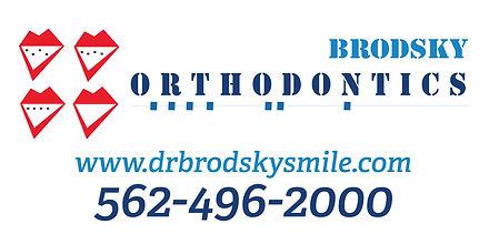 2018 Brodsky Orthodonticcs Banner 2'H x