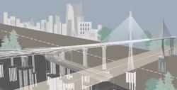 Constatine bridge model and wire illustration2