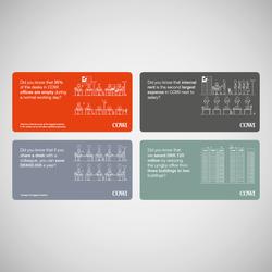 Space minimization cards