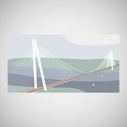 Bochphorus bridge illustration