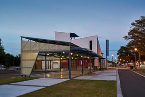 Rail Spike Pavilion