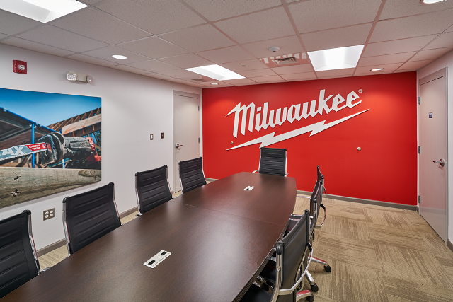 Milwaukee Tool Interior